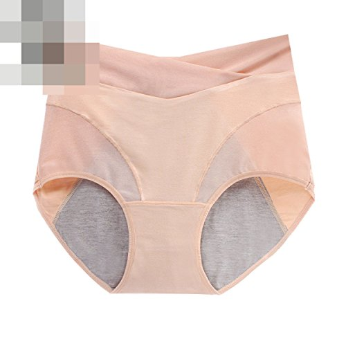 Frau Ultra-bequeme Beiläufige Unterwäsche Mit Hohen Taille Leak Sexy Damen Briefs (3 Sätze) A6