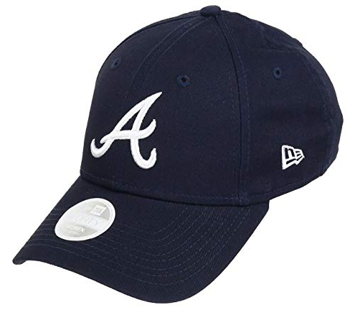 New Era Atlanta Braves MLB Cap New Era 9forty Damen Verstellbar Blau - One-Size