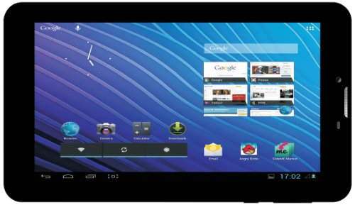 I-Inn Communicator2 Tablet, 7 Pollici, 3G, Wi-Fi, Nero