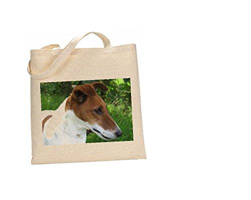 Fox Terrier Hund Tasche aus 100% Baumwolle (FC) # 110 -