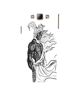 EPICCASE Cool Lord shiva Mobile Back Case Cover For Samsung Galaxy A3 (Designer Case)
