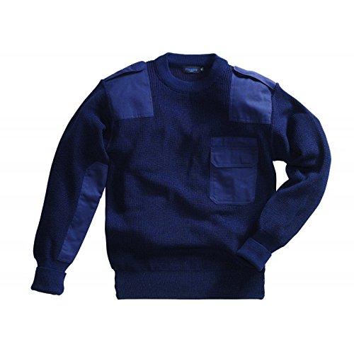 Preisvergleich Produktbild Pionier BUNDESWEHRPULLOVER (Marine) 80% Wolle - Corporate Workwear - Pio 64 Marineblau