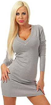 cheap for discount 0917a ac8f3 Suchergebnis auf Amazon.de für: Damen Longpullover grau