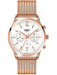 866fd5935d4 Henry London Richmond Unisex Quartz Watch with Chronograph Quartz…