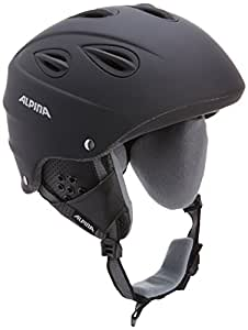 Alpina Skihelm Grap, black matt, 54-57, 9036233