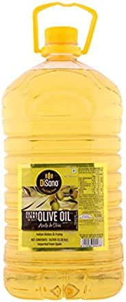 DiSano Extra Light Olive Oil, Ideal for Indian Cooking, 5L