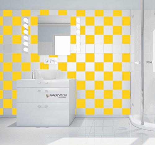 50 pezzi adesivi per piastrelle bagno e cucina decorazione - Pezzi per bagno ...