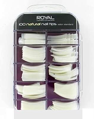 Royal 100 Natural Nail Tips