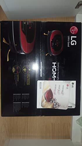 LG Kitchen vr8601rr.ardqeeu Roboter Staubsauger Motor Smart Inverter, 6Watt, 0.6Liter, Ruby Red