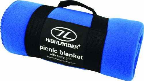 Highlander Fleecedecke Blau blau Blau Unisex Lightweight Fleece