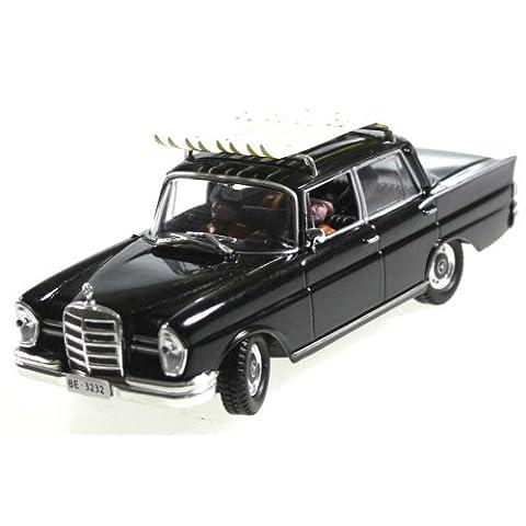 Auto miniature Mercedes Benz 220S 1/43 James Bond On her majesty