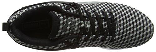 Puma Herren Aril Blaze Geometric Sneakers Low-Top Black/Castor Gray/Glacier Gray