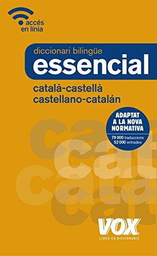 Diccionari Essencial Castellano-Catalán / Català-Castellà (Vox - Lengua Catalana - Diccionarios Generales) por Vox Editorial