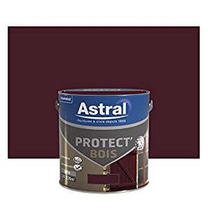 Astral 5120590 Protect'bois 2,5 L Satin Brun Normandie