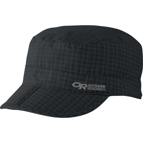 Outdoor Research Radar Pocket Cap, Farbe Black Check, Größe S Black Box Radar