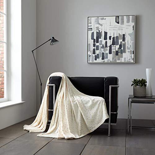 Pavla-Outlet Star - Manta de Forro Polar para sofá o Cama, diseño...