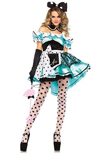 Leg Avenue 85510 - Delightful Alice Kostüm, Größe -