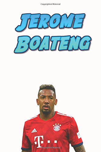 75f2df2a7e58 Jerome Boateng: Football Soccer Notebook For Boys And Kids, Sports Theme  Notebook (110