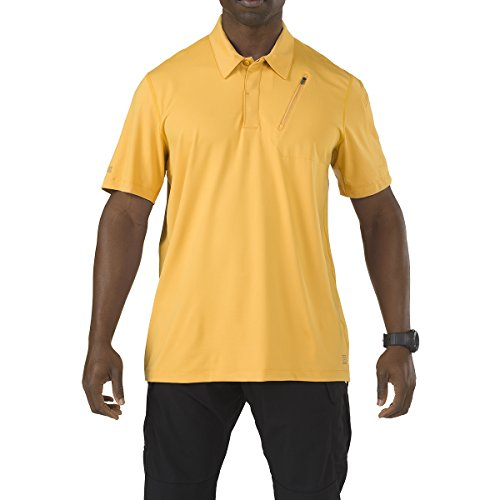 5.11 Hommes Odyssey Polo Manches Courtes Goldrush