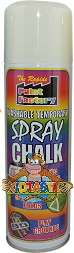 white-chalk-spray-white-spray-chalk-blackboard-outside-pavement-wedding-car-party-decoration