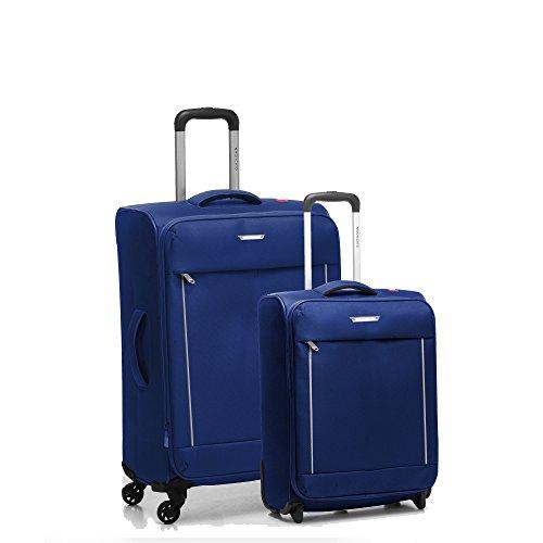 Roncato Live Juego de maletas, 74 liters, Azul (Blu Notte)
