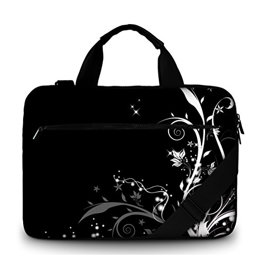 MySleeveDesign Canvas Laptoptasche Notebooktasche Umhängetasche 15