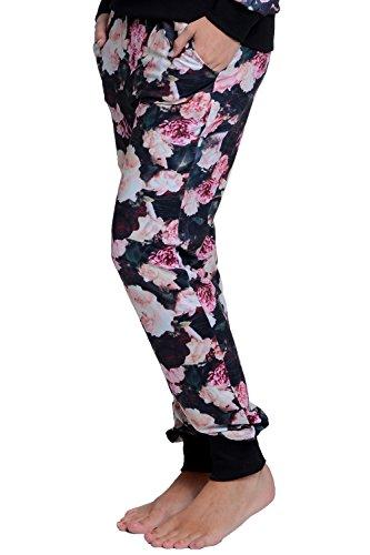 Flower style supreme dANY short de jogging long pour homme Multicolore - Imprimé fleuri