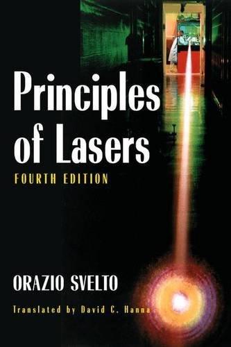 Principles of Lasers (Library) by Orazio Svelto (2007-01-24) par Orazio Svelto
