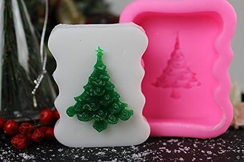 Unitedcovers Seifengießform Weihnachtsbaum - Tannenbaum Silikonform zru Herstellung individueller Seife