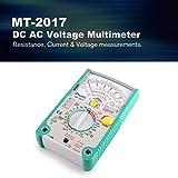 fghdfdhfdgjhh Misura Proskit MT-2017 AC/DC Analogico Grafico Pointer Multimetro Amperometro Resistenza Capacità Diodo Volt Amp Ohm hFE LED Meter