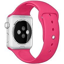 For Apple Watch 38mm ,Ouneed Deportes de la manera de silicona pulsera de la ven