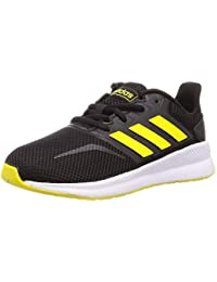 Adidas Runfalcon K, Zapatillas de Trail Running Unisex niño, Multicolor (Negbás/Amasho/Amasho 000), 35.5 EU