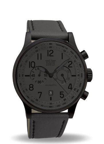davis-grey-phantom-aviator-42mm-waterresist-50m-chronograph-grey-leather-strap-watch