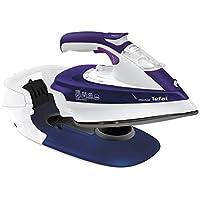 Tefal Plancha De Vapor Free Move 2,600 W Ultragliss Diffusion Violeta