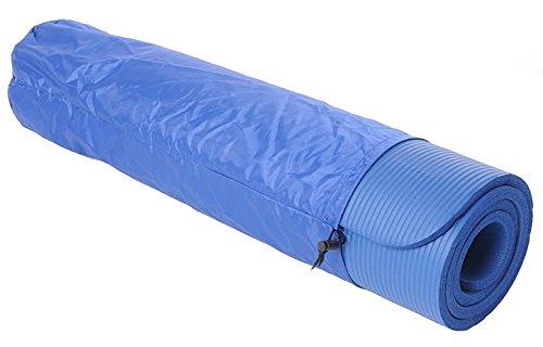 Kawanyo Colchoneta Esterilla De Yoga Pilates Fitness azul con bolso y...