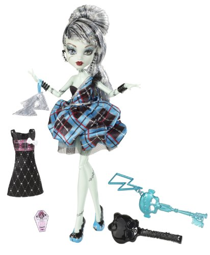 Mattel W9190 - Monster High Frankie Stein, Frankensteins Tochter, (High Monster Frankenstein)