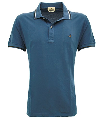 POLO CLASSICAzaffiro v0039 Brooksfield Polo light piquet Blu zaffiro 50 Uomo
