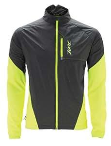Zoot Herren Jacke M Ultra Run Flexwind, Safety Yellow/Black, S, 2634201.1.2