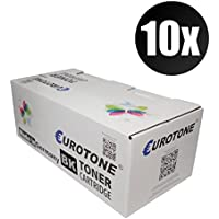 10x Eurotone Toner Cartucho para Brother DCP-L 2500 2520 2540 2560 2700 DW D CDW DN CDN sustituye TN2320