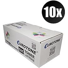 10x Eurotone Toner para Ricoh Aficio SP 4100 4110 4210 4310 sf dn n sustituye 402810 TYPE220A TYPE220 Negro Set
