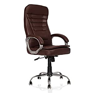 green soul brisbane high back office chair dark brown amazon in