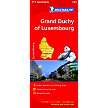 Grand Duchy of Luxembourg National Map 717