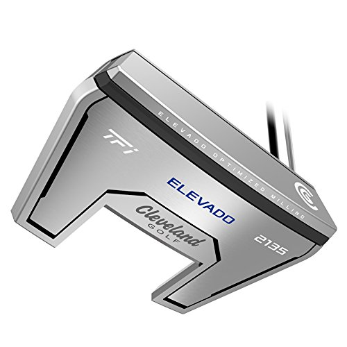 Cleveland Golf 2135 satiné Elevado Putter, 2135 Satin, Red