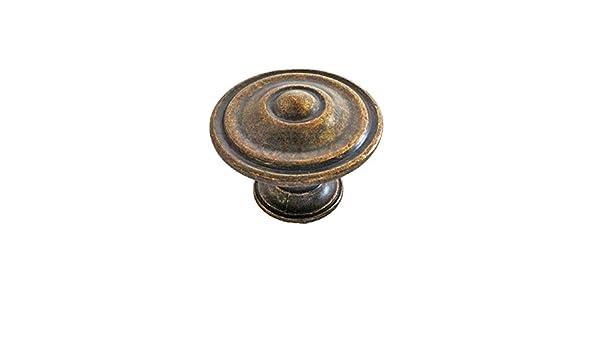 Saxon cuisine et chambre bouton poignée finition antique