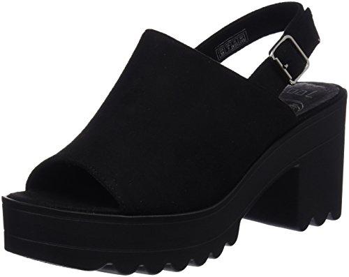 COOLWAY Alessa, Zapatos Tacon Correa Tobillo Mujer