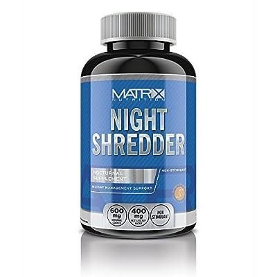 Matrix Nutrition Night Shredder Fat Burner Tablets - Weight Loss - Raspberry Ketone – Slimming. from Matrix Nutrition