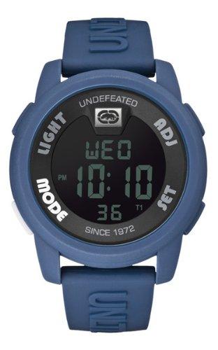 Marc Ecko E07503G3 - Reloj de pulsera para hombre, negro/plata