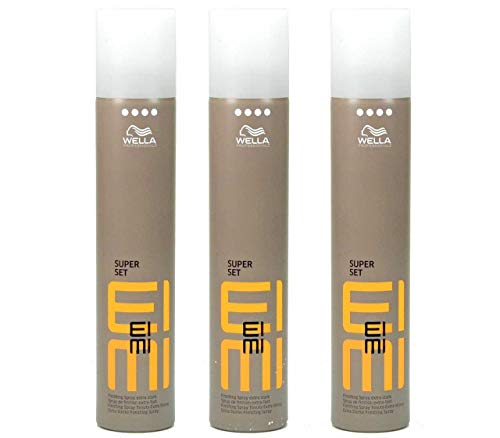 Wella EIMI SUPER SET Finishing Haarspray extra stark - 300ml (3´er Pack)