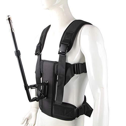 LFTS Vest Articulating Arm Handheld Video Stabilizer Systems Stabilisator mit Stabilisierung des Körpers und der Armstütze Body Mount System zur Stabilisierung des Camcorders Articulating Mount