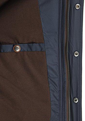 SOLID Denilson Herren Winterjacke Steppjacke aus hochwertiger Materialqualität Insignia Blue (1991)
